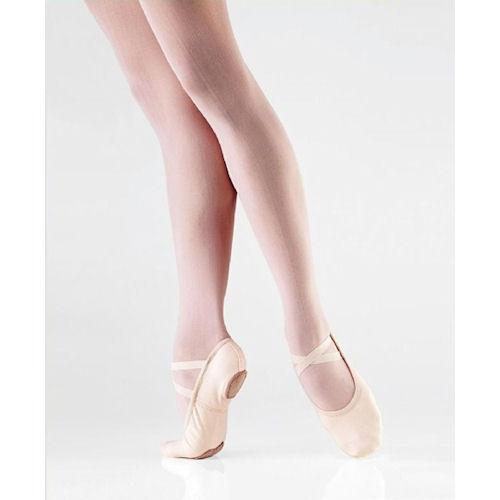 so danca sd16 light pink split sole canvas ballet shoe
