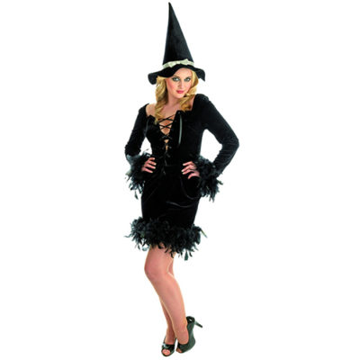 1203 Black Feather Witch