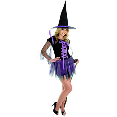 1210 Purple Ribbon Witch