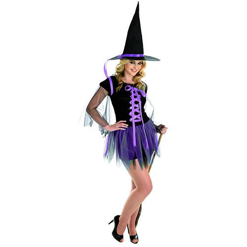 1210 Purple Ribbon Witch
