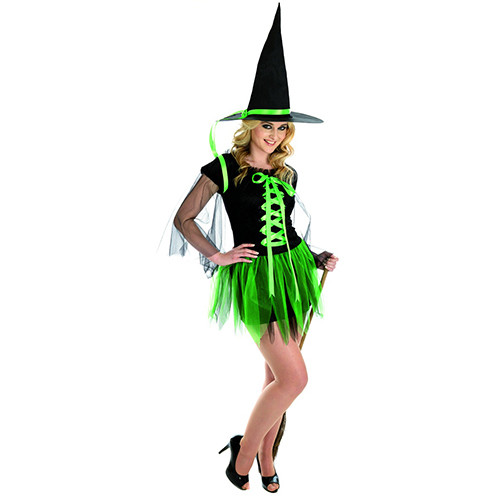 1212 Green Ribbon Witch