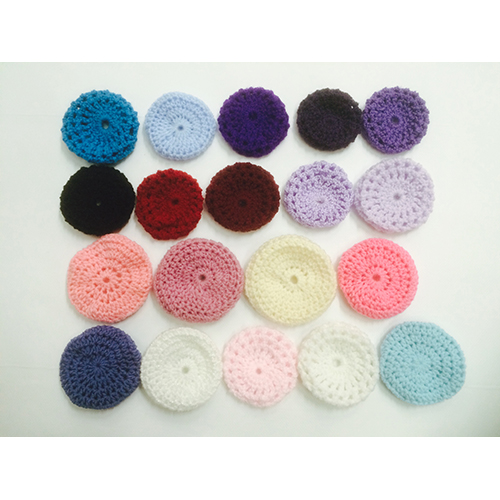 Crocheted Hair Bun Cover Ballet Dance Various Colours World Of