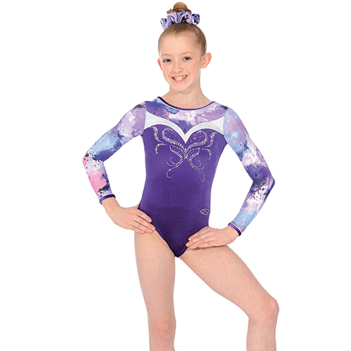 b0915e1cc The Zone ZEN Z479 Long Sleeve Gymnastic Leotard