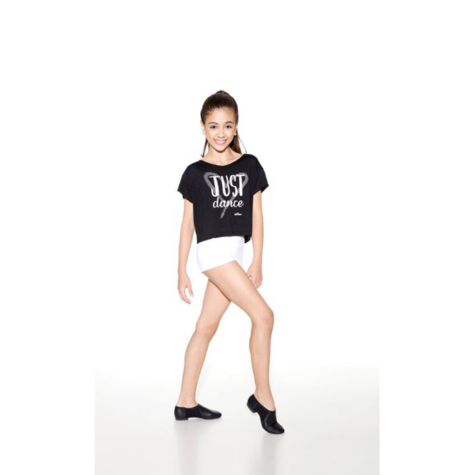 "f4b21b822b So Danca Girl s RDE 1779 Cap Sleeved Crop Top ""Just Dance"""